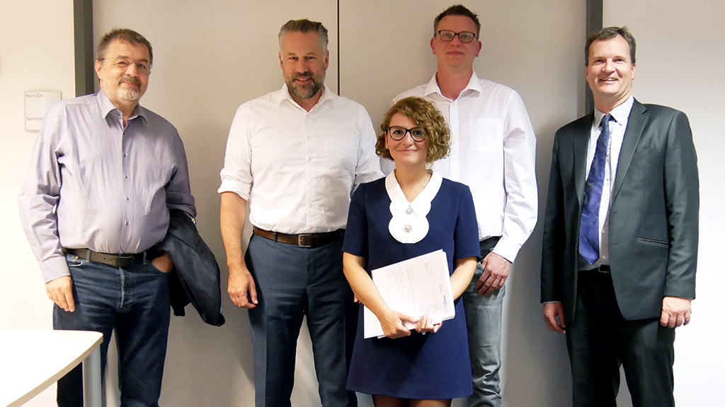 Sarah's successful PhD defense at RWTH Aachen University